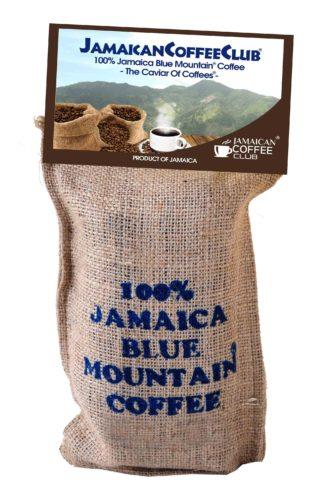 Genuine blue mountain coffee