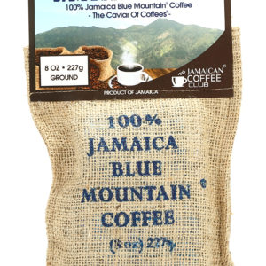 Jamaican Blue Mountain Authentic Ground Coffee